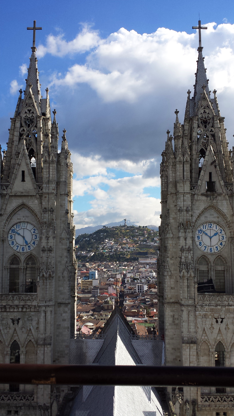 Cathedral Quito Equateur