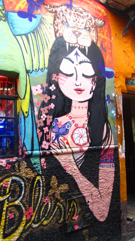 Street Art Bogota Colombie