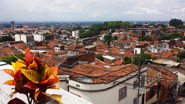 Cali vieille ville Colombie