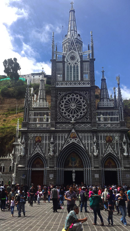 Sanctuaire de Las Lajas Ipiales Colombie