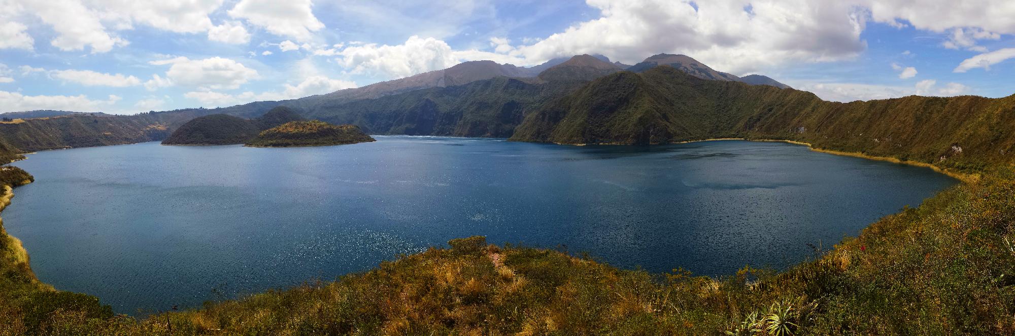 otavalo_laguna-Quicocha equateur