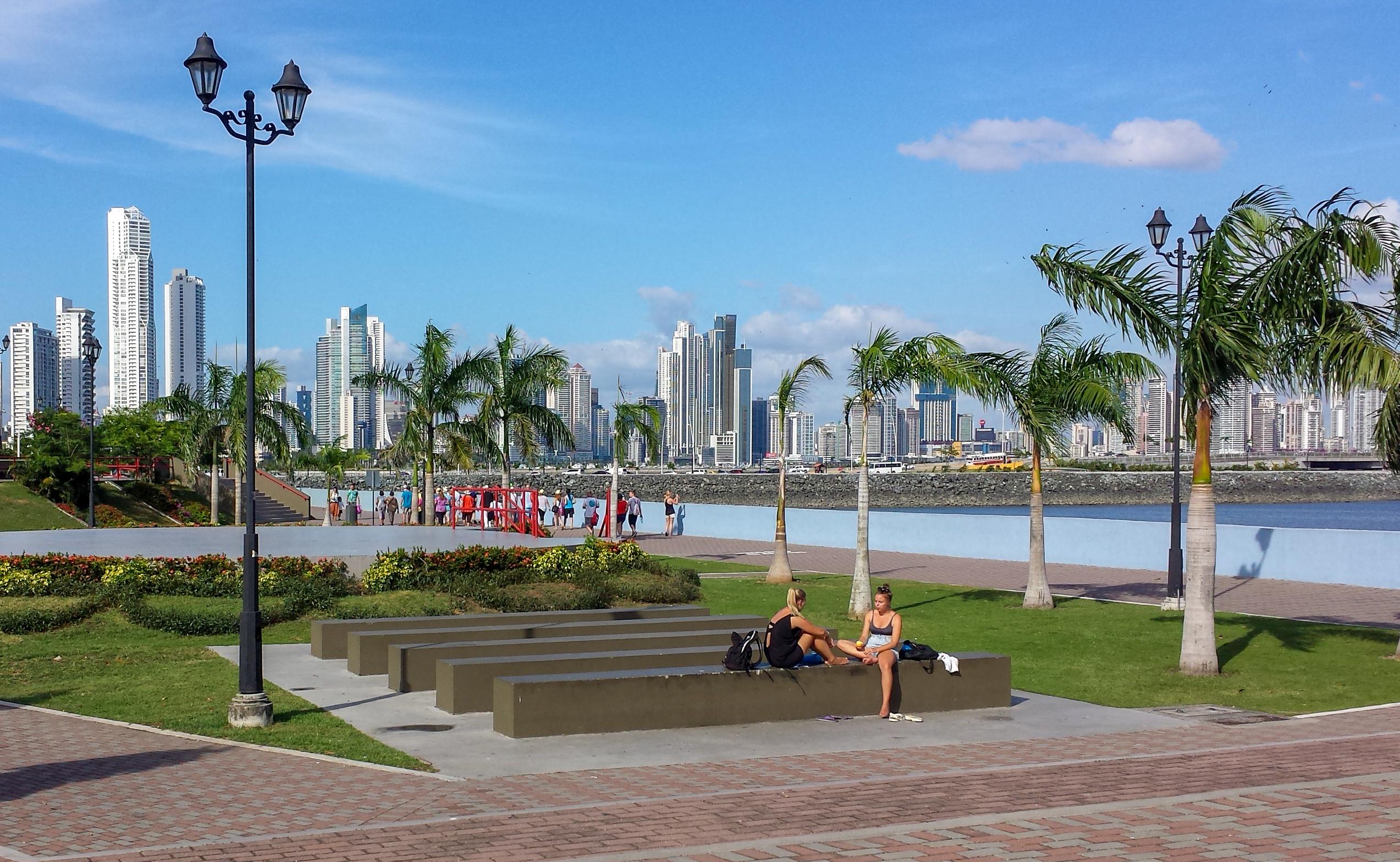Malecon Panama city
