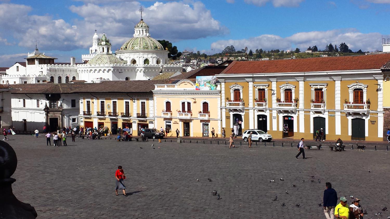 Plaza Quito Equateur