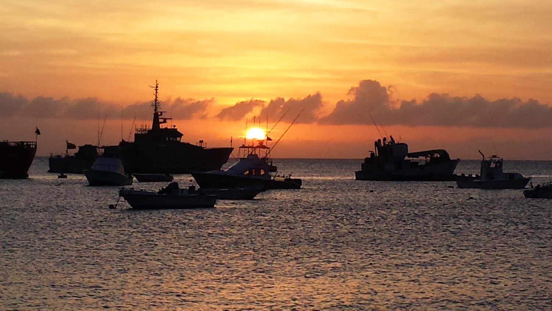 sunset Galapagos