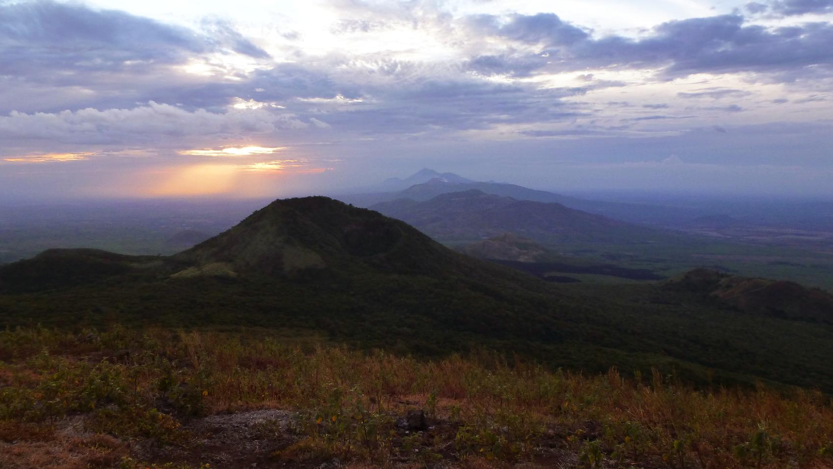 sunset El Hoyo Nicaragua