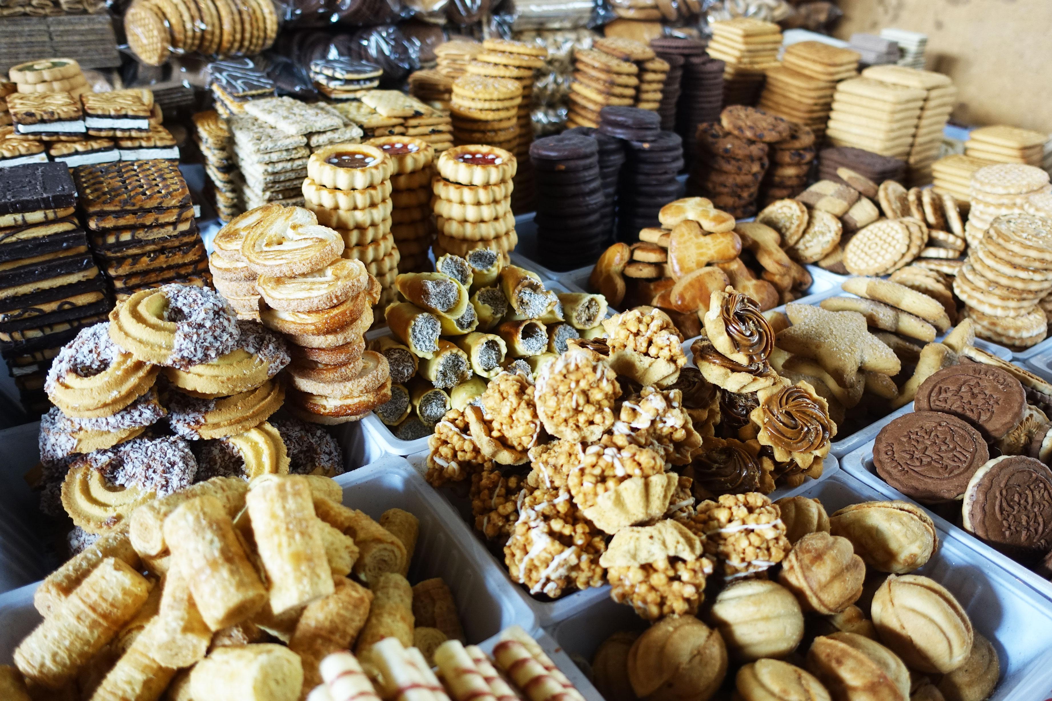 bishkek biscuits market Khirghizstan
