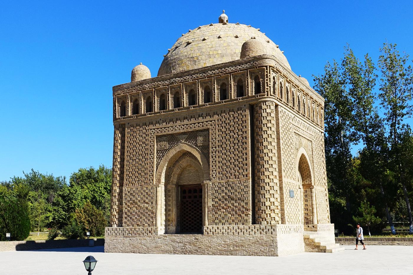 Boukhara Mausolee Samanides Uzbekistan