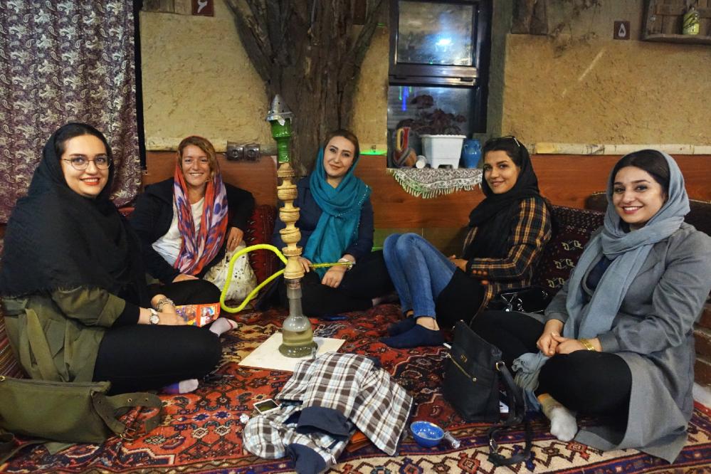 Hamedan Chicha salon de the Iran