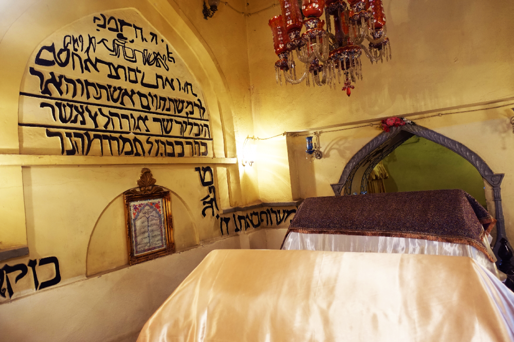 Hamedan tombeau Mochderai et Ester Iran