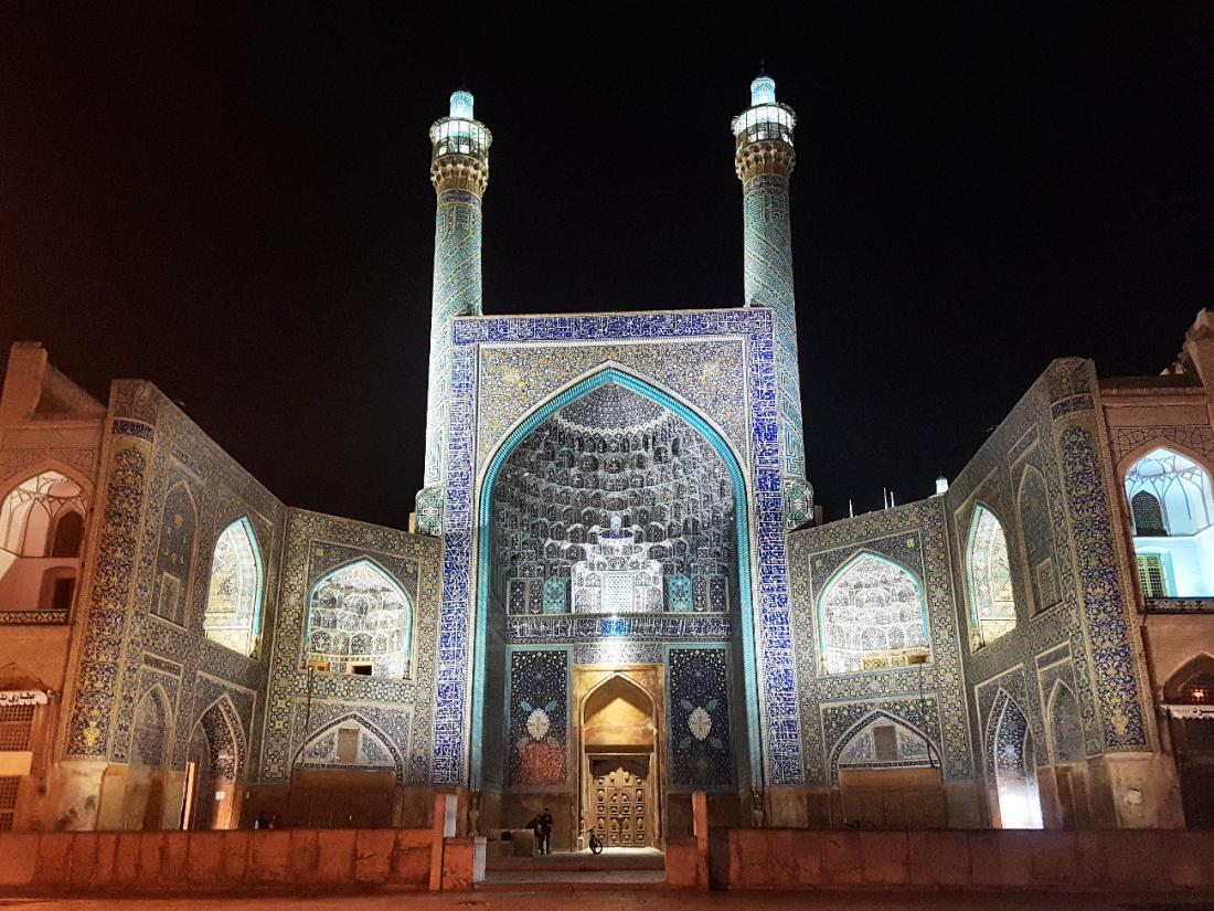 Isfahan mosque Shah big square
