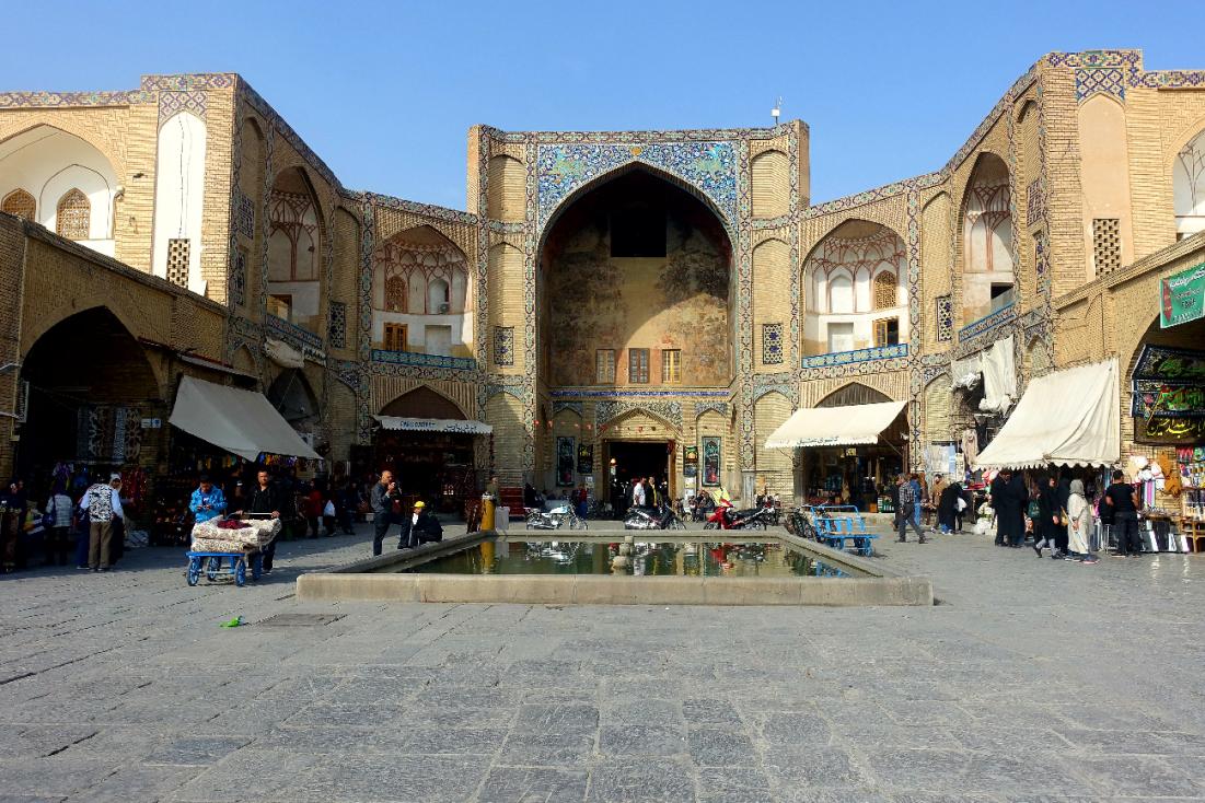 Ispahan place royale Naghsh-e Jahan Iran