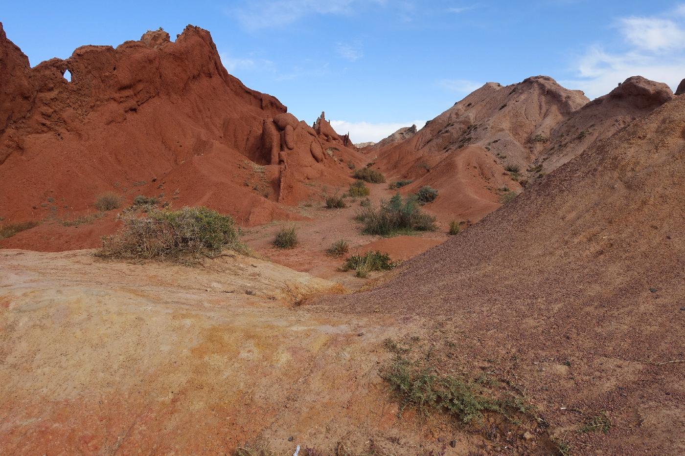 Fairytale canyon Issyk-Kul region Karakol Khirghizstan