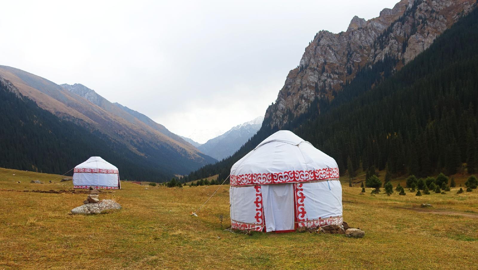 Yurt Issyk-Kul region Karakol Khirghizstan