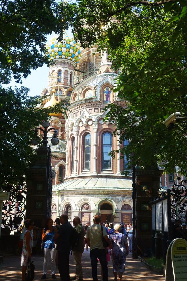 St Petersbourg Russie Eglise le sauveur sang versé