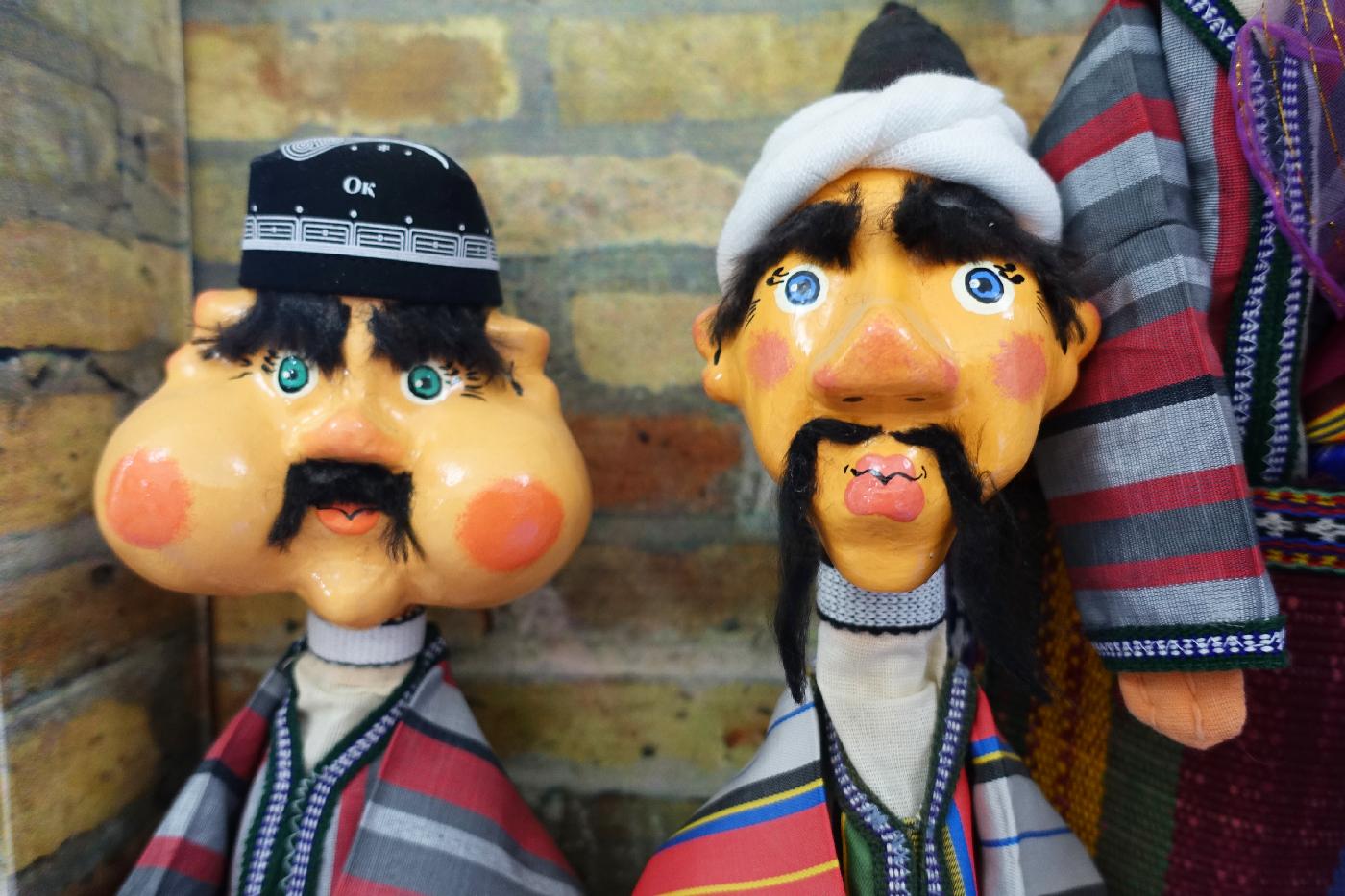 boukhara puppets marionettes Uzbekistan