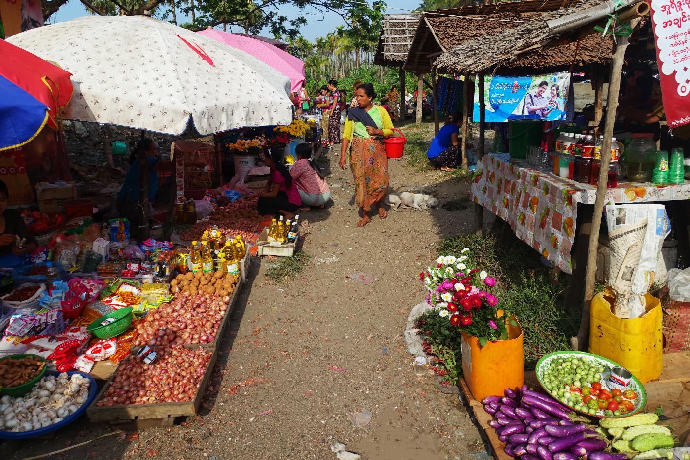 Dawei Market Myanmar