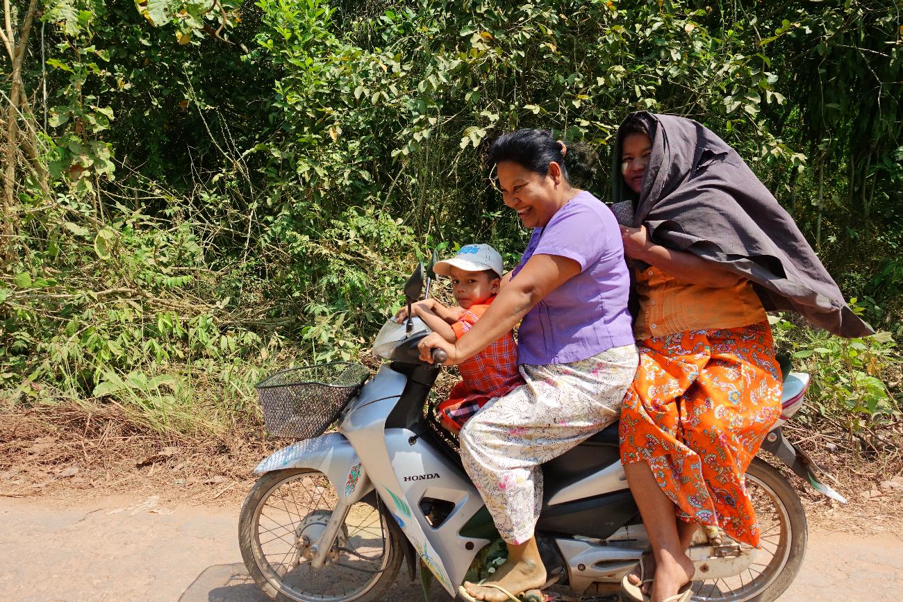 Dawei family Myanmar