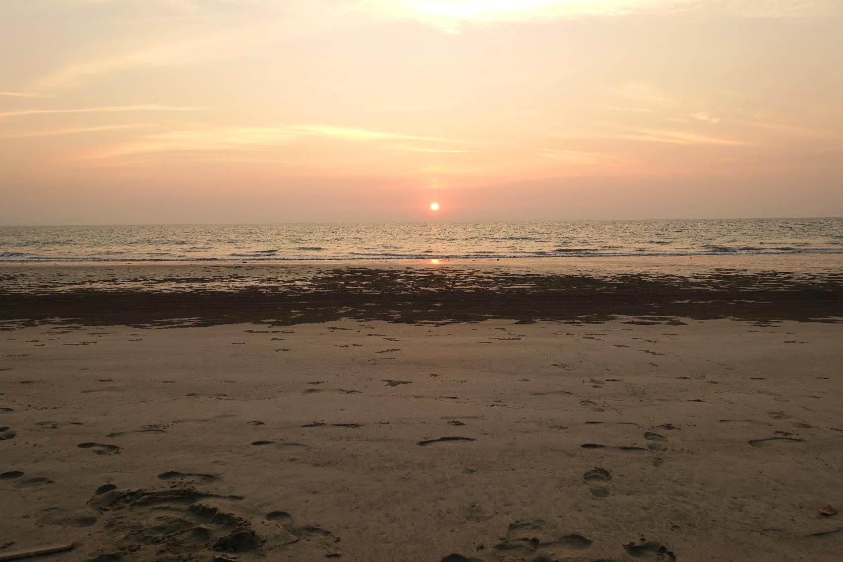 Dawei sunset Myanmar