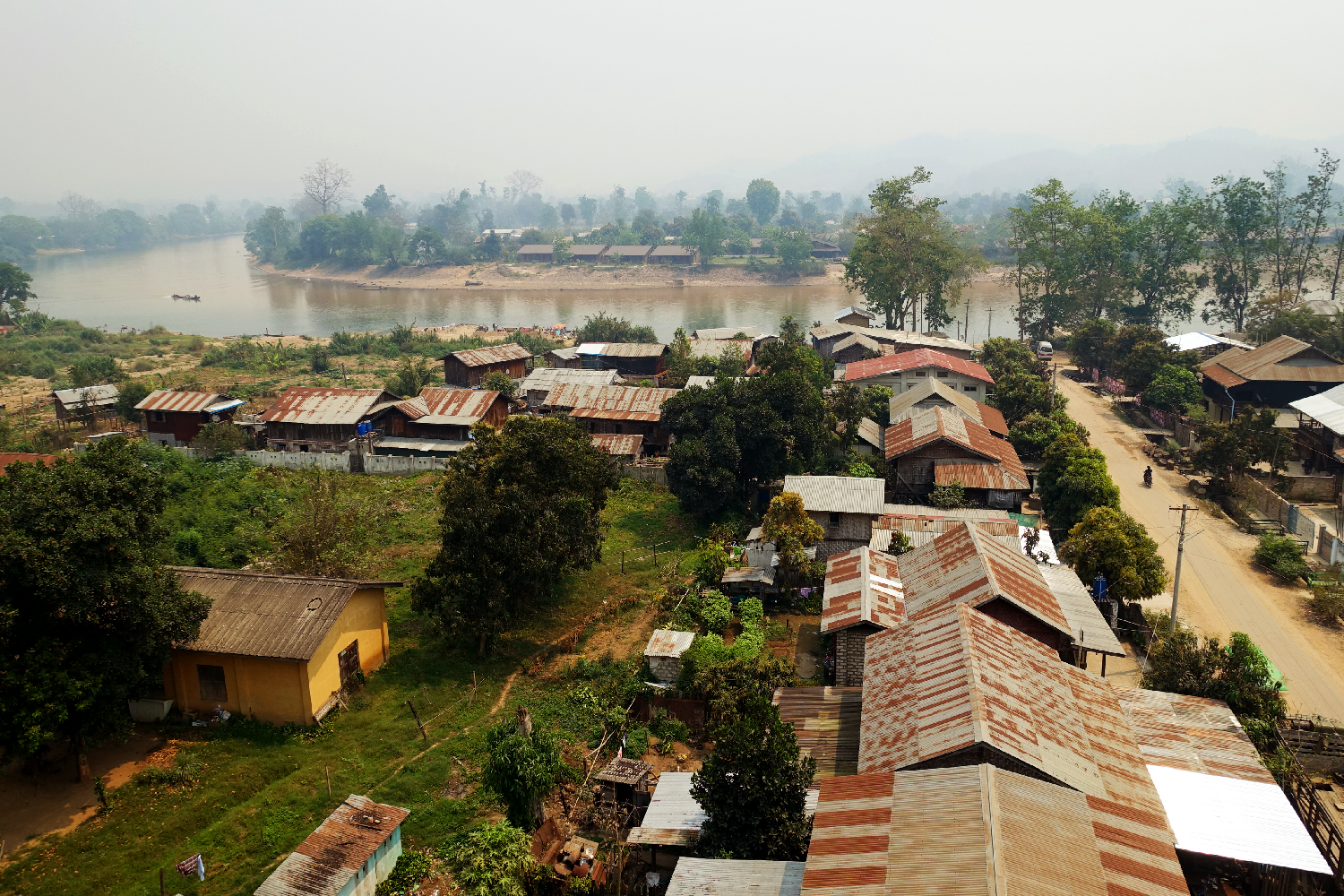 Hsipaw view Myanmar
