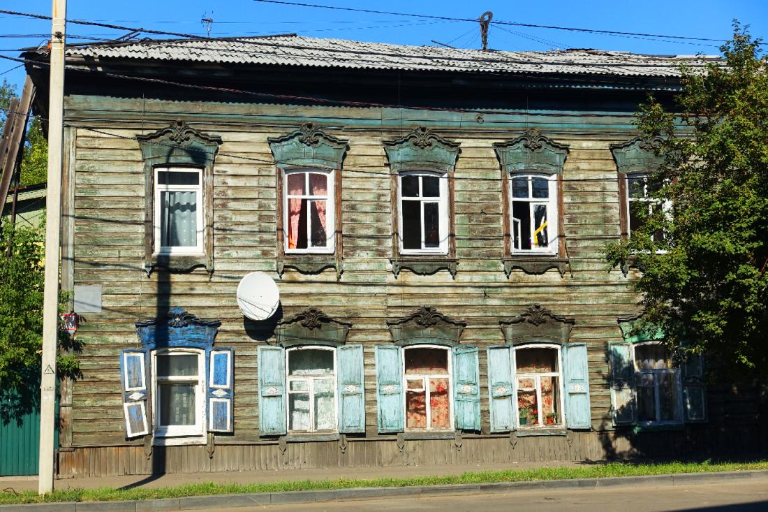irkutsk maison russie siberie