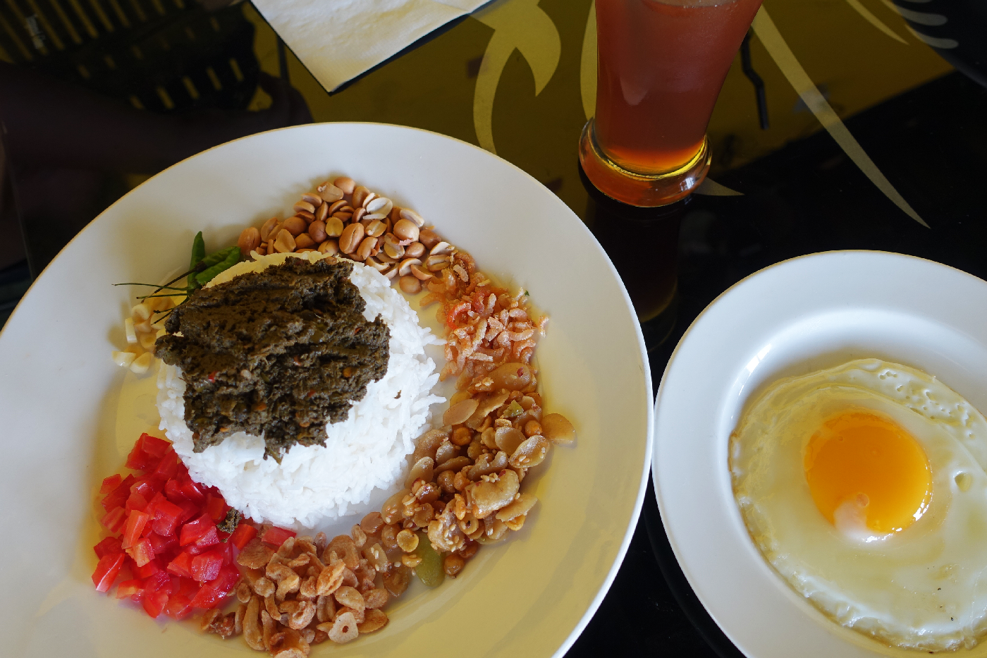 Moulmein Myanmar Tea leaf fried rice