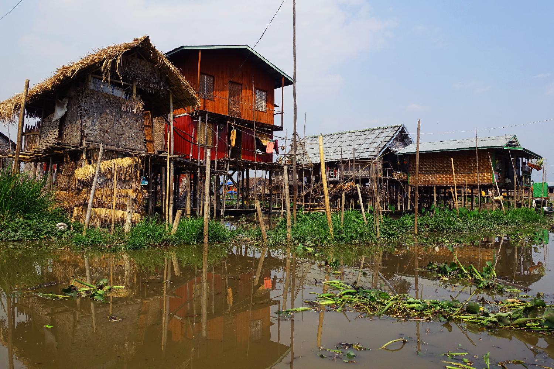 Nuang Shwe Inle lake Myanmar