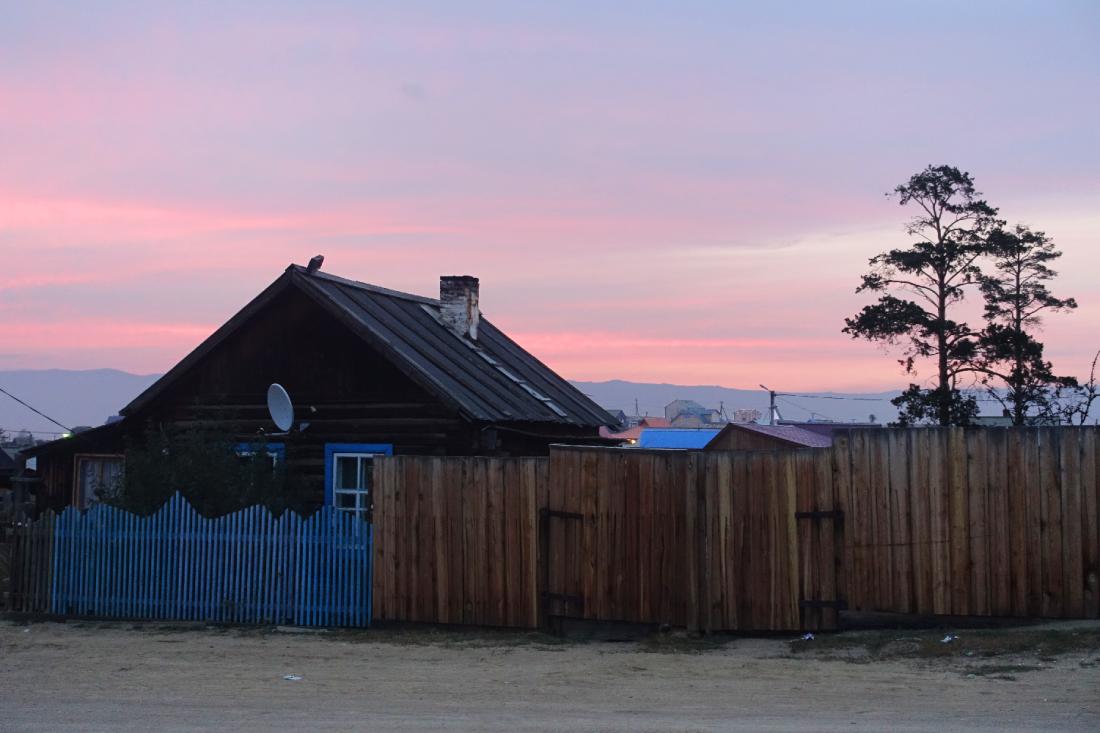 Olkhon Irkutsk auberge Siberie Russie