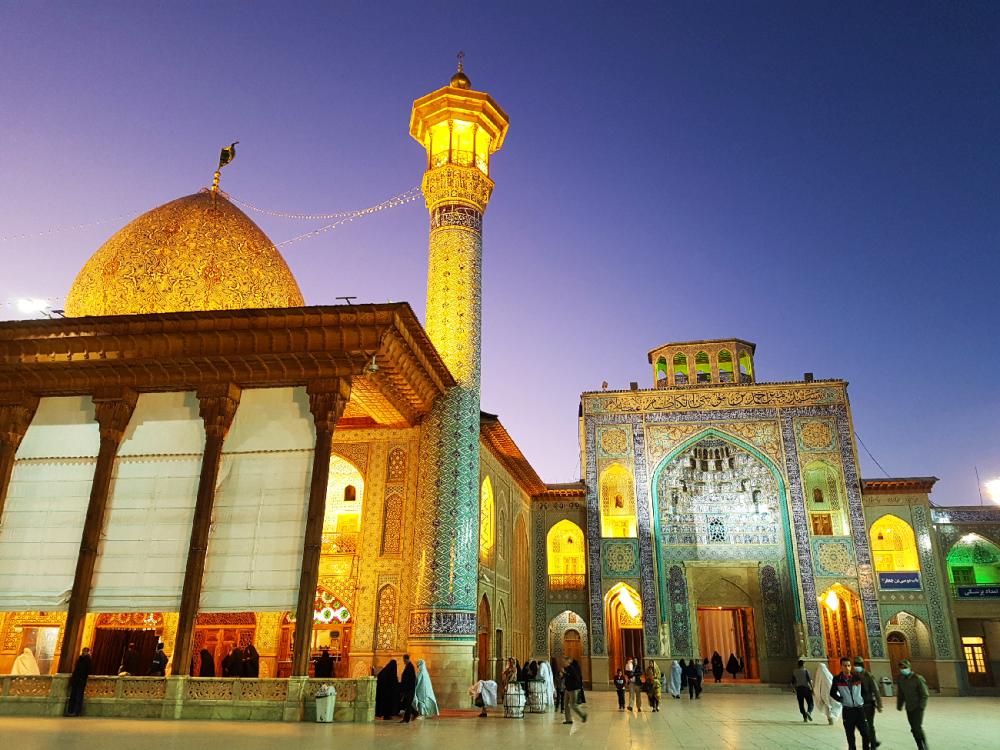 shiraz Mosquee Shah Cheragh Iran
