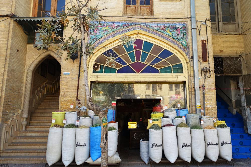 Shiraz vakil bazaar square Iran