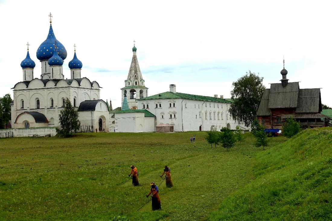 Suzdal Russie Kremlin Anneau d'or