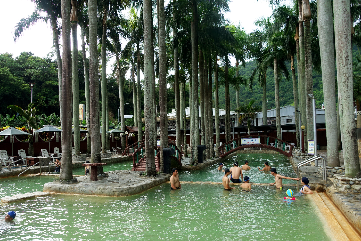 Taitung Spa hot springs Taiwan
